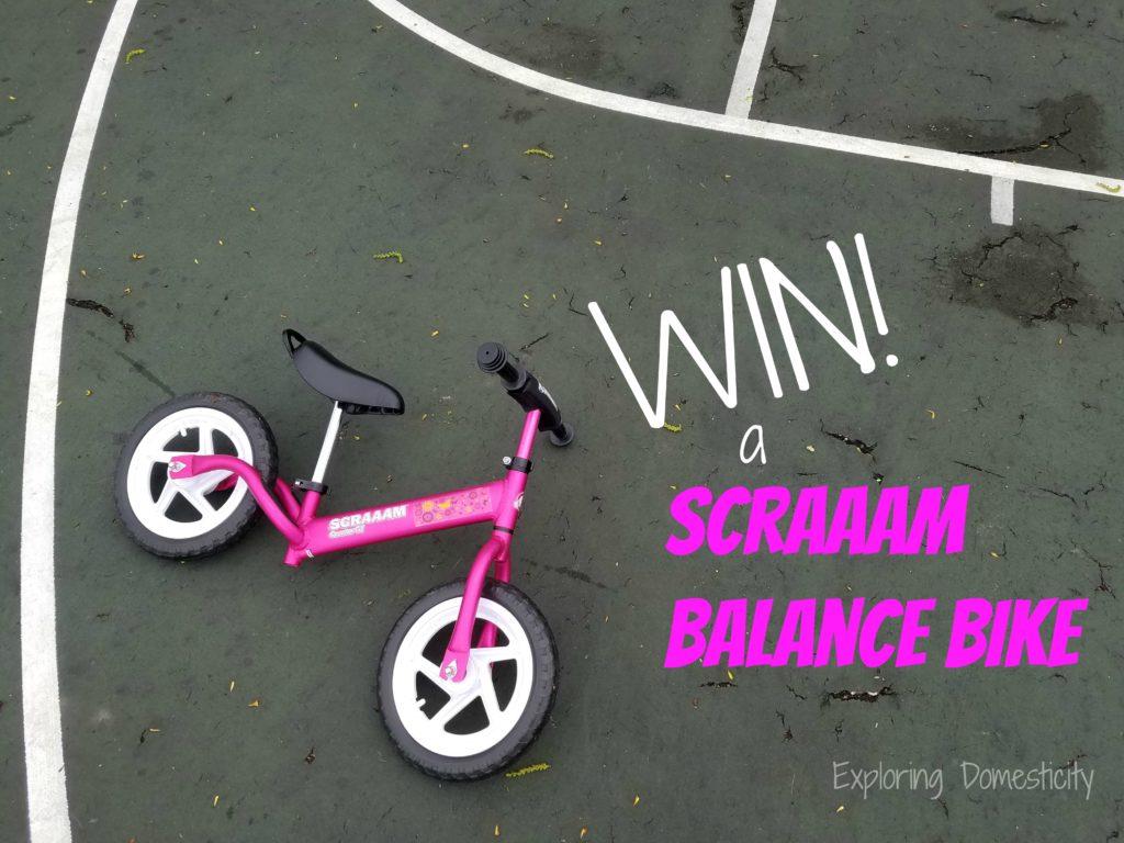 Win a Scraaam Balance Bike