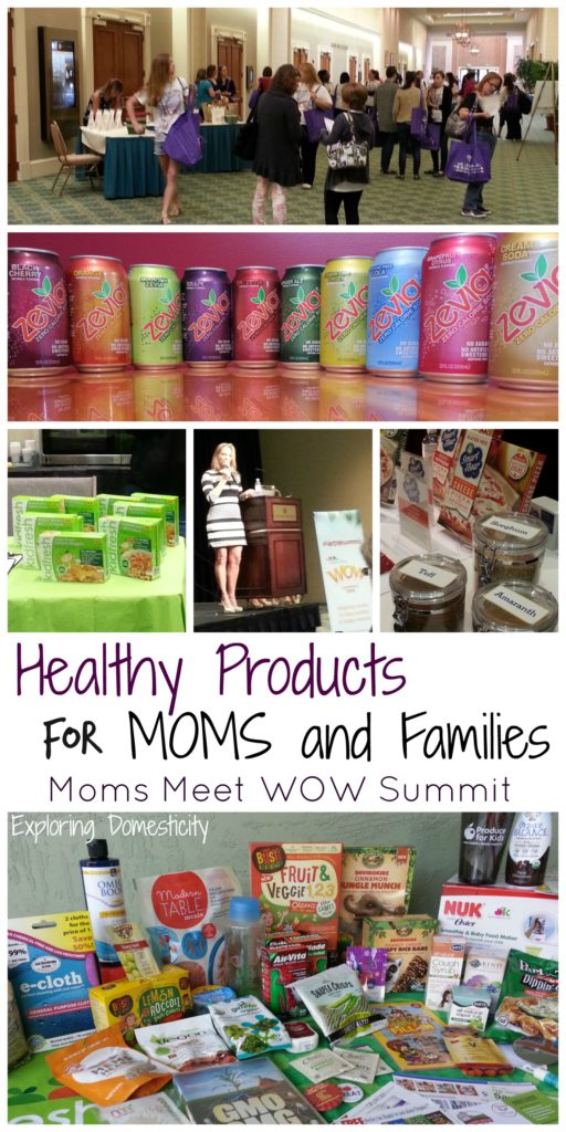 Healthy Products for Moms and Families - Moms Meet WOW Summit