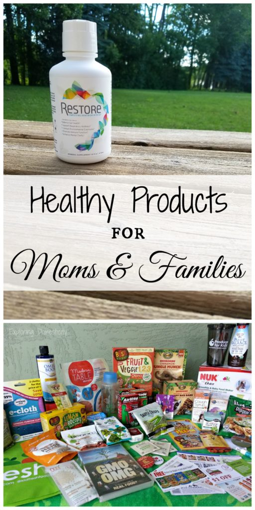 Healthy Products for Moms and Families - Restore for gut health