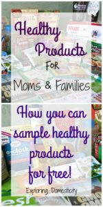 Healthy Products for Moms and Families - Sample for Free