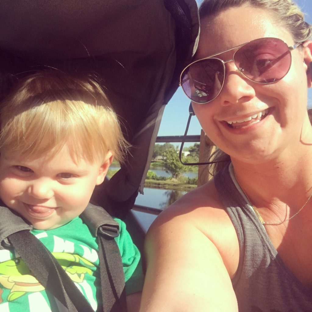Motivating Mom Stephanie - busy mom who makes time for her health