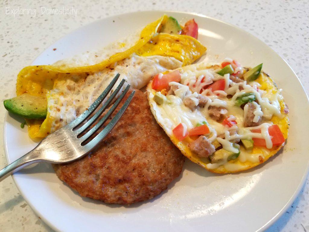 Make Ahead Egg Breakfast