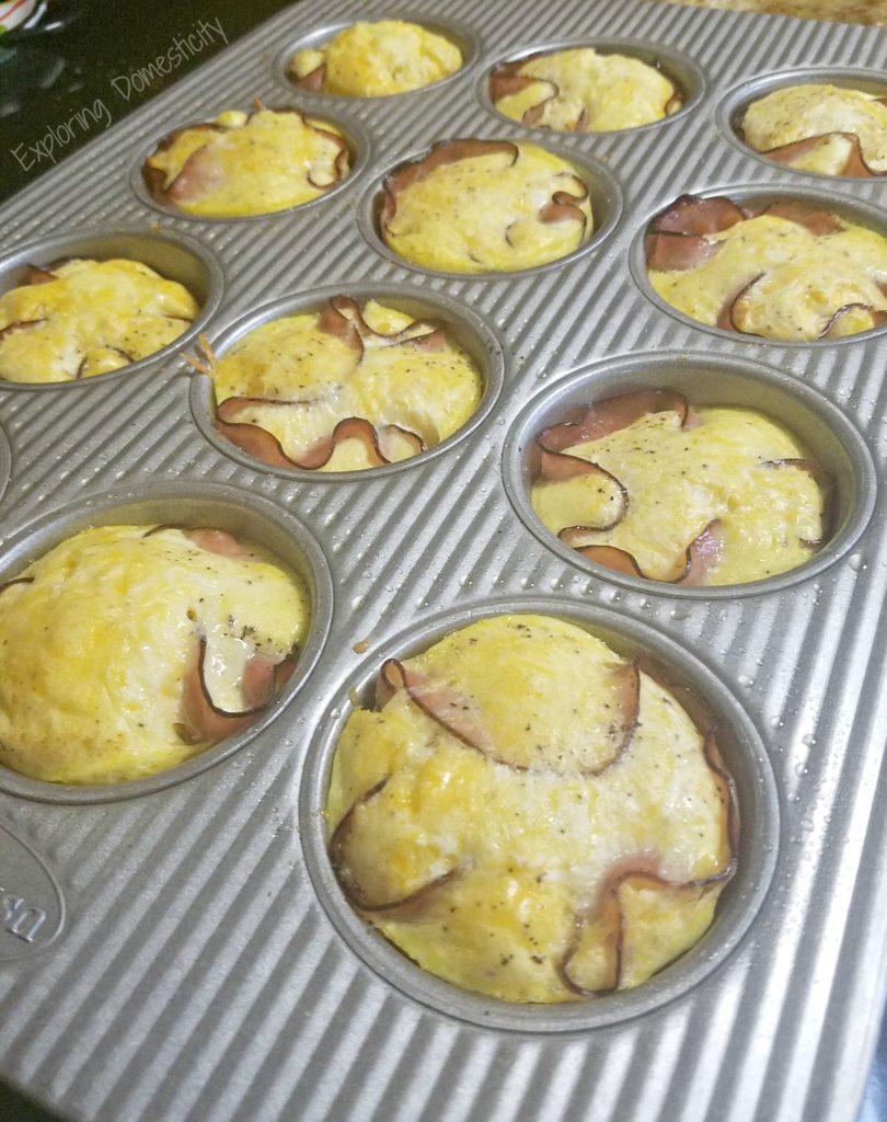 Make Ahead Ham and Egg Muffins