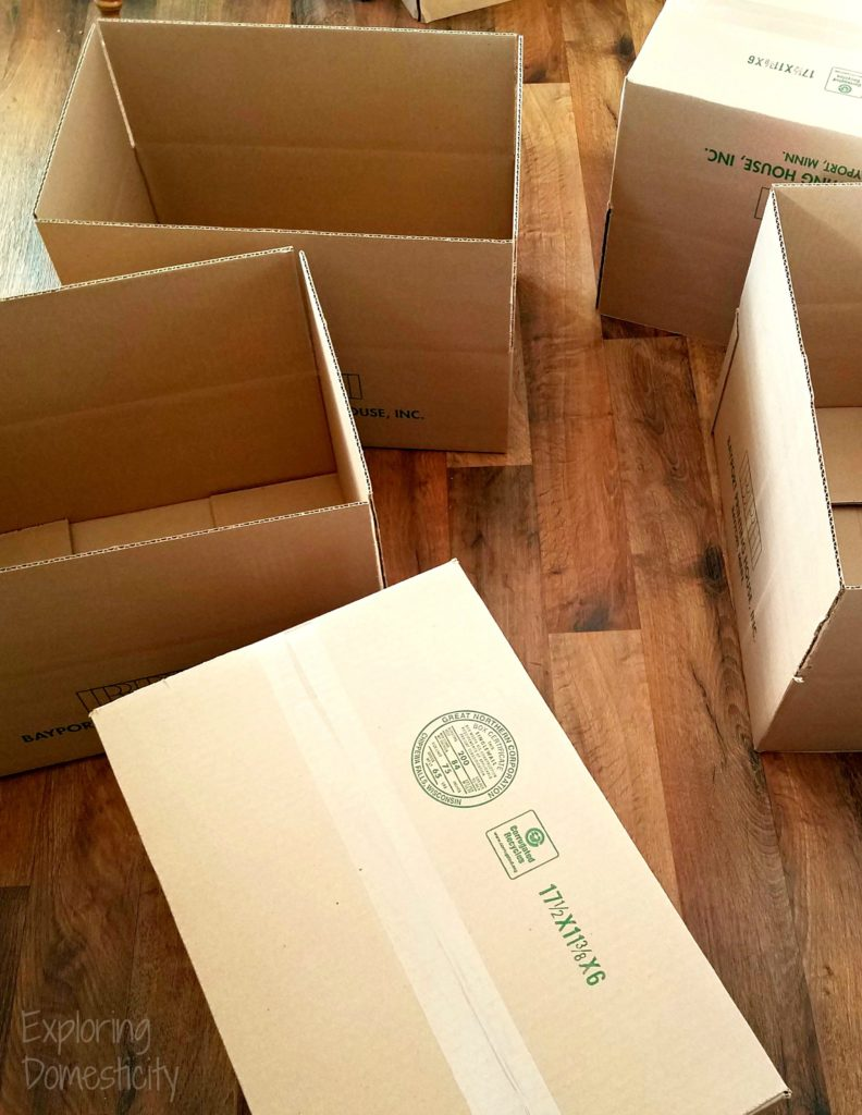 Moving Must Haves Boxes and Packaging