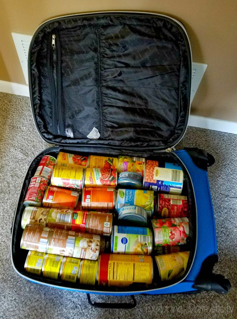 Moving Tips - use rolling suitcases for heavy items