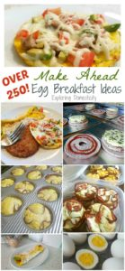 Over 250+ Make Ahead Breakfast Ideas!
