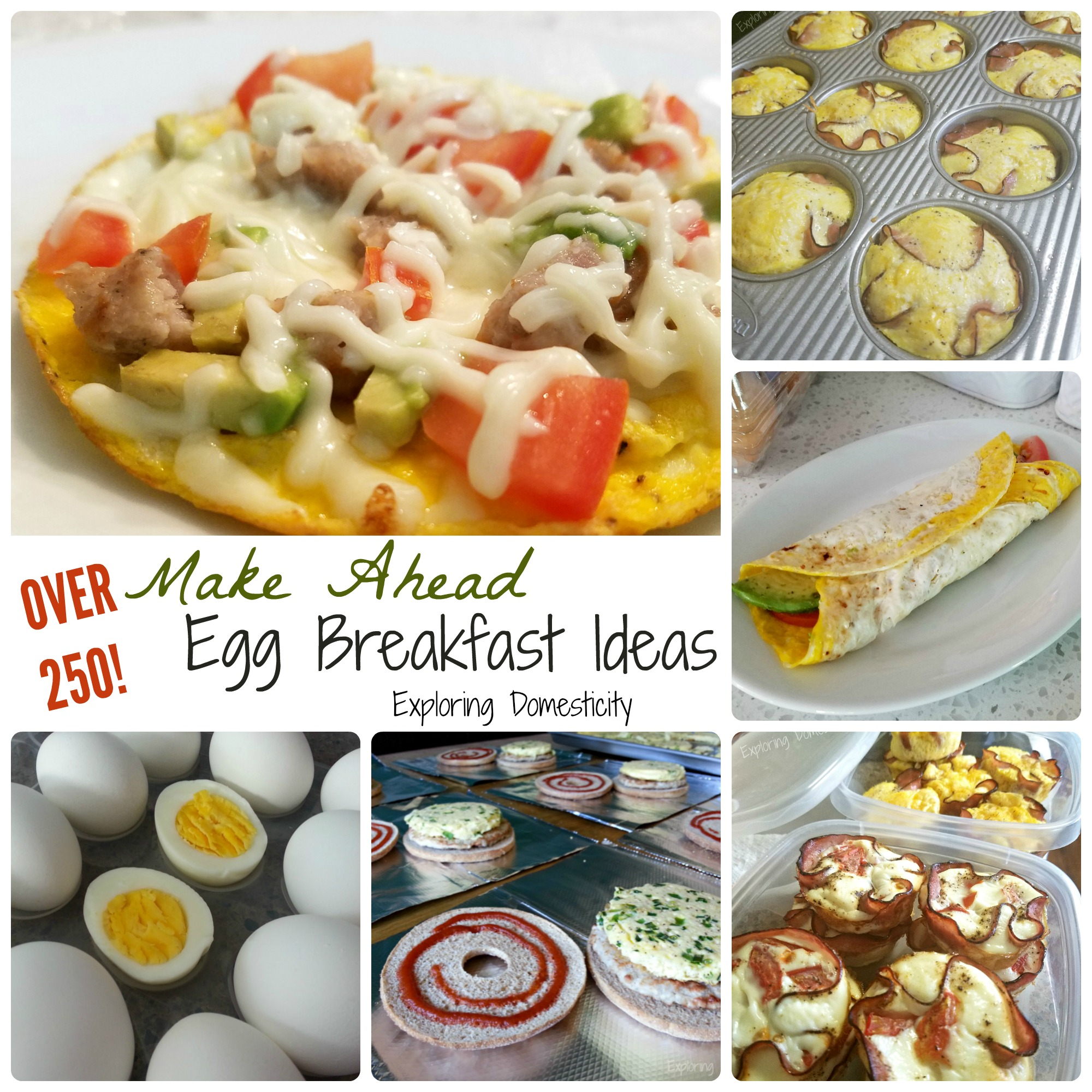 20 Make Ahead Breakfast Recipes With Eggs: Make Ahead Egg Breakfast Ideas {Nellie's Summer School