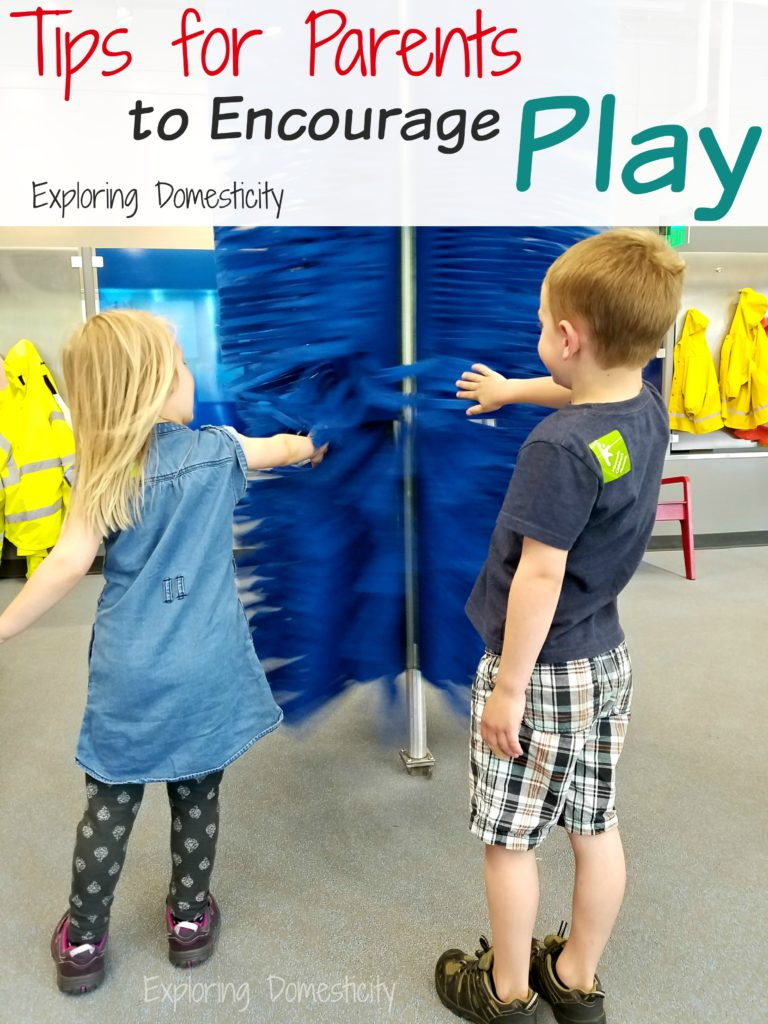 Tips for Parents to Encourage Play