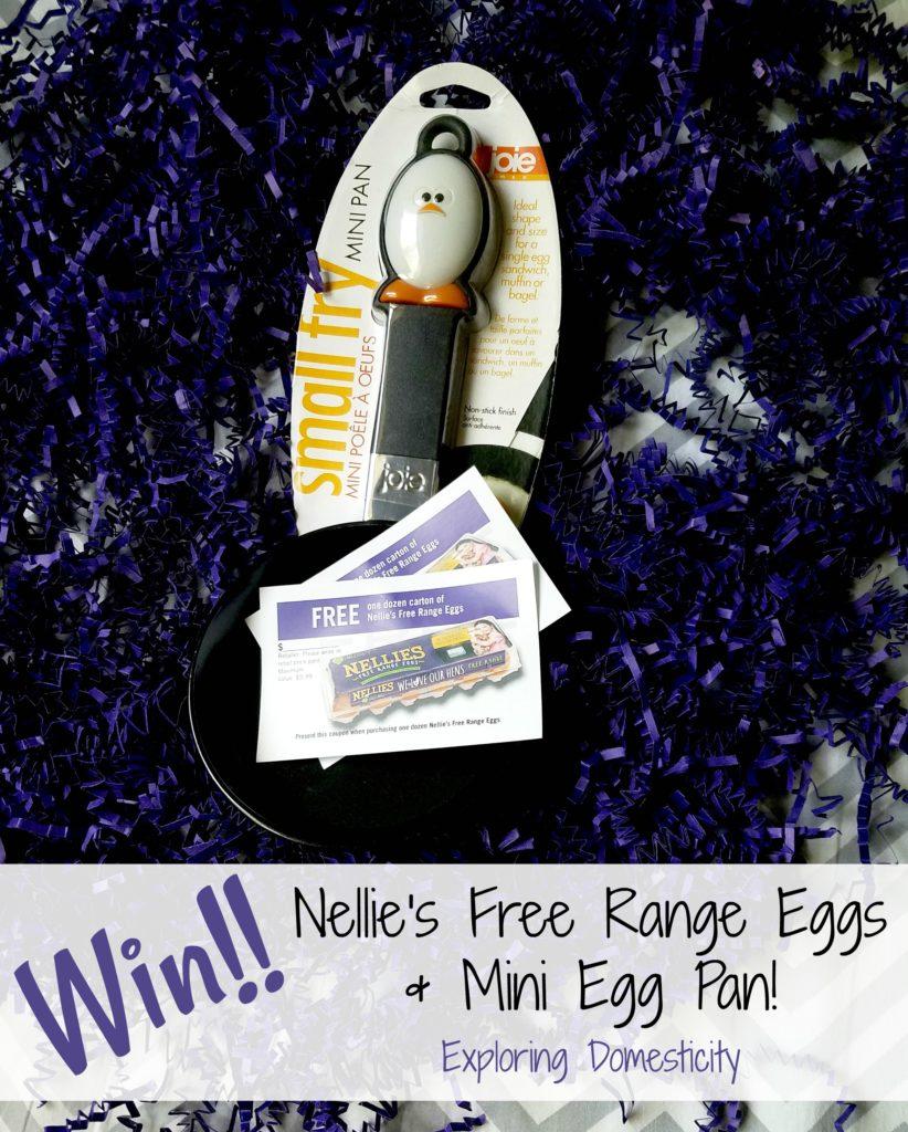 Win Nellie's Free Range Eggs and Mini Egg Pan