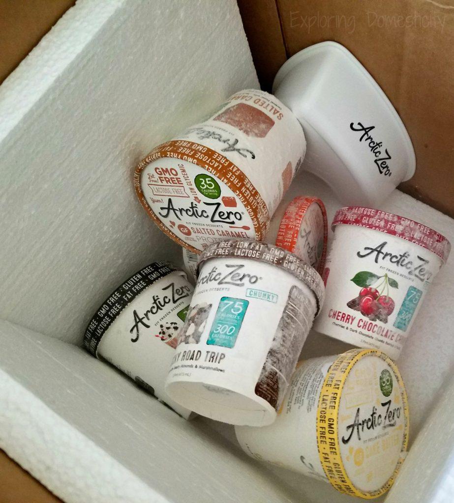 Arctic Zero Fit Frozen Treats - healthier guilt-free snacking