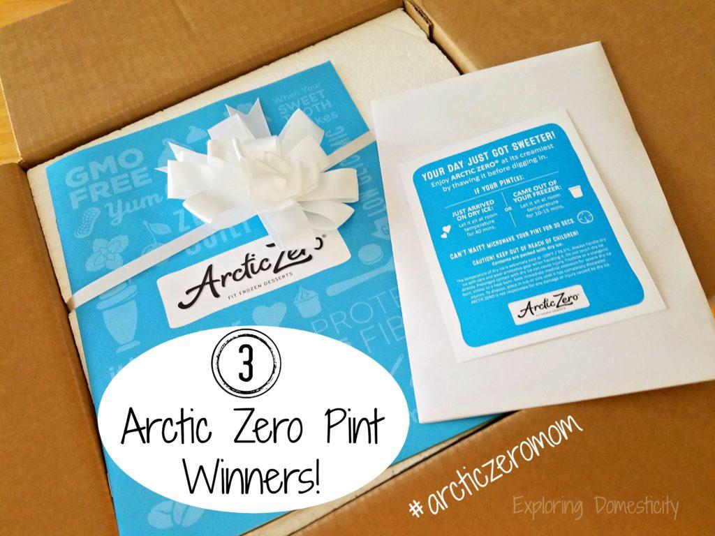 Arctic Zero Giveaway - 3 winners!