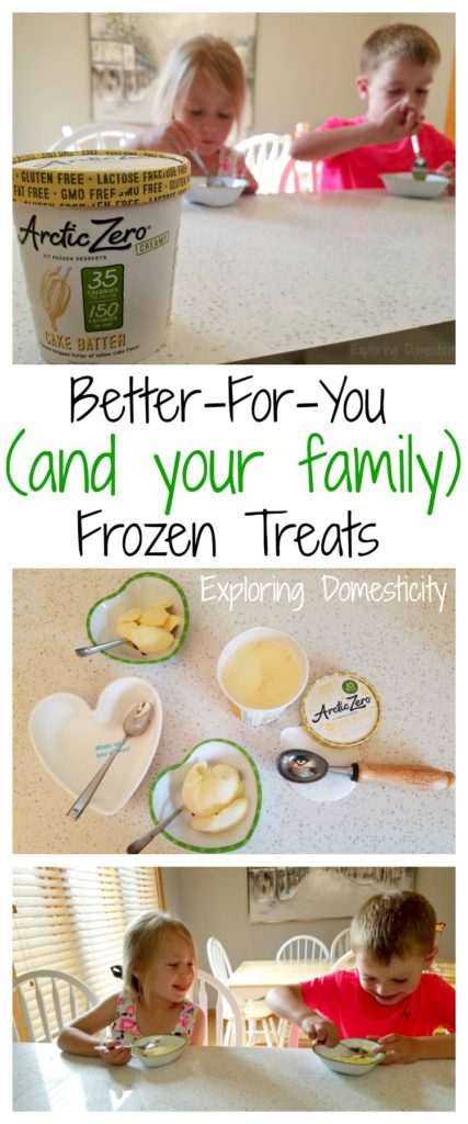 Better-For-You and your family frozen treats - Arctic Zero