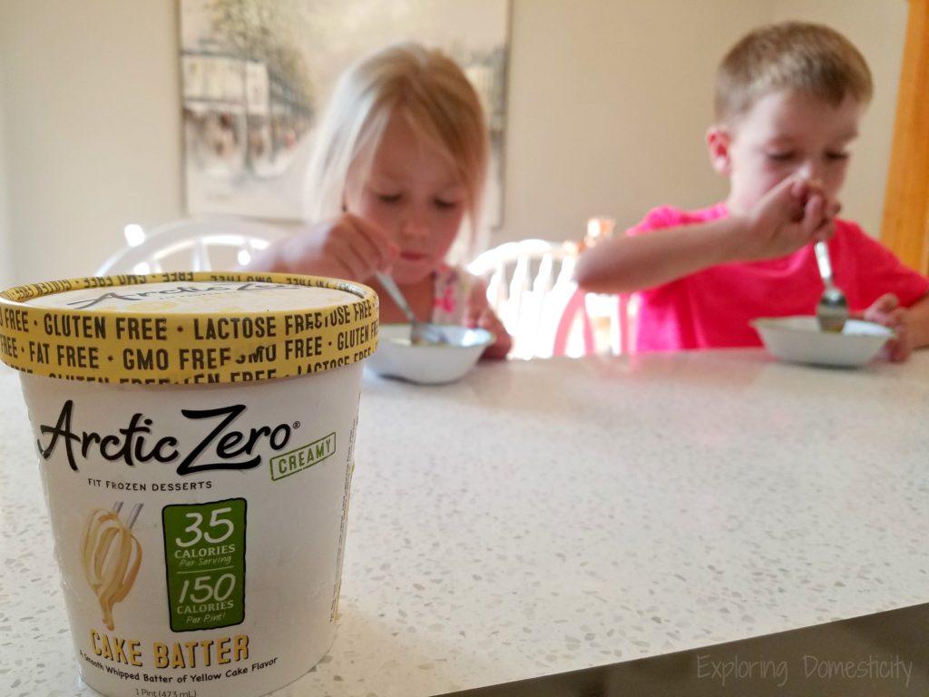 Kids love Arctic Zero, and so do moms #ArcticZeroMom