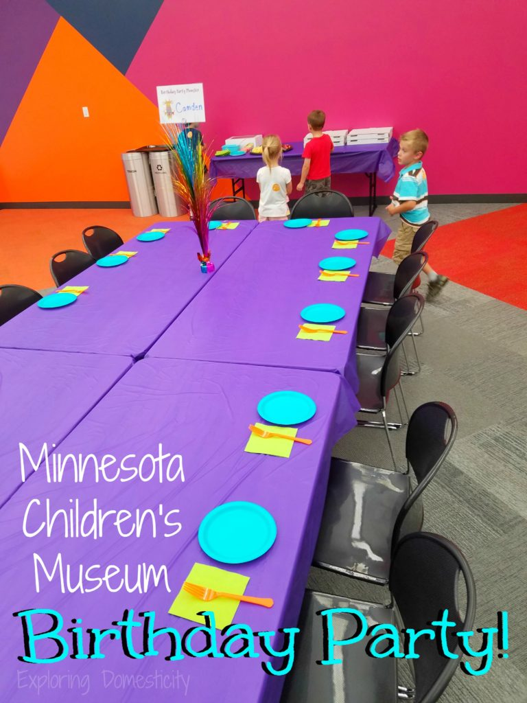 Minnesota Children's Museum Birthday Party!
