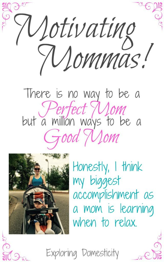 Motivating Mom Catherine - working mom making health and self-care a priority