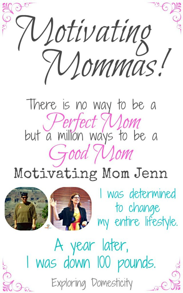 Motivating Mom Jenn lost 100 pounds and sets a healthy example for her family