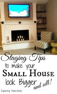 Staging Tips to Make a Small House Look Bigger - and sell!
