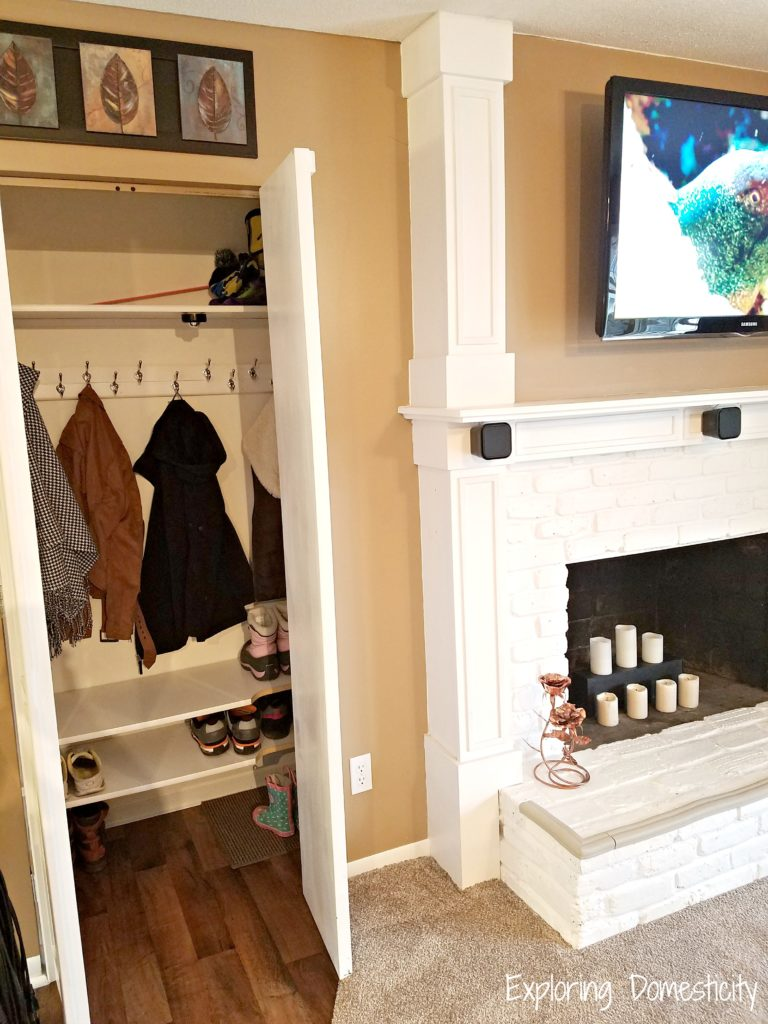 Staging tips to make a small house look bigger - closet space