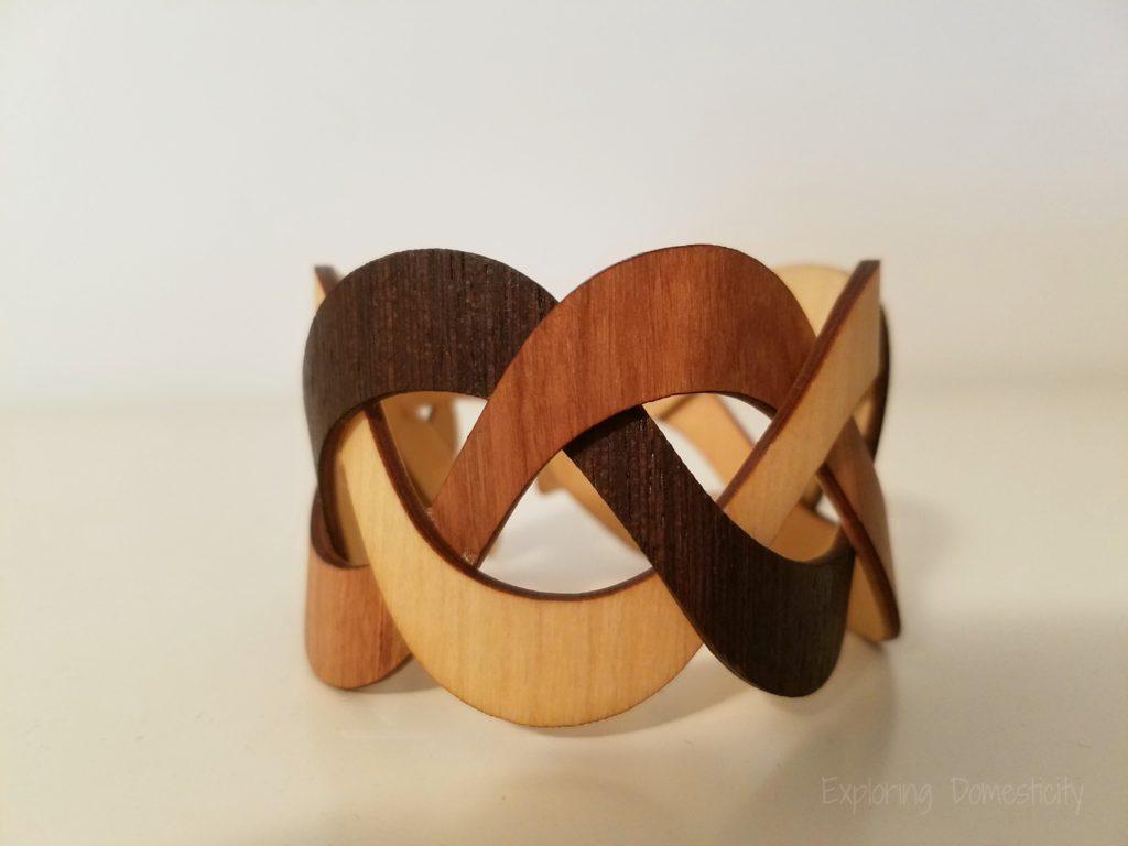 unique gifts for women - wooden bracelet