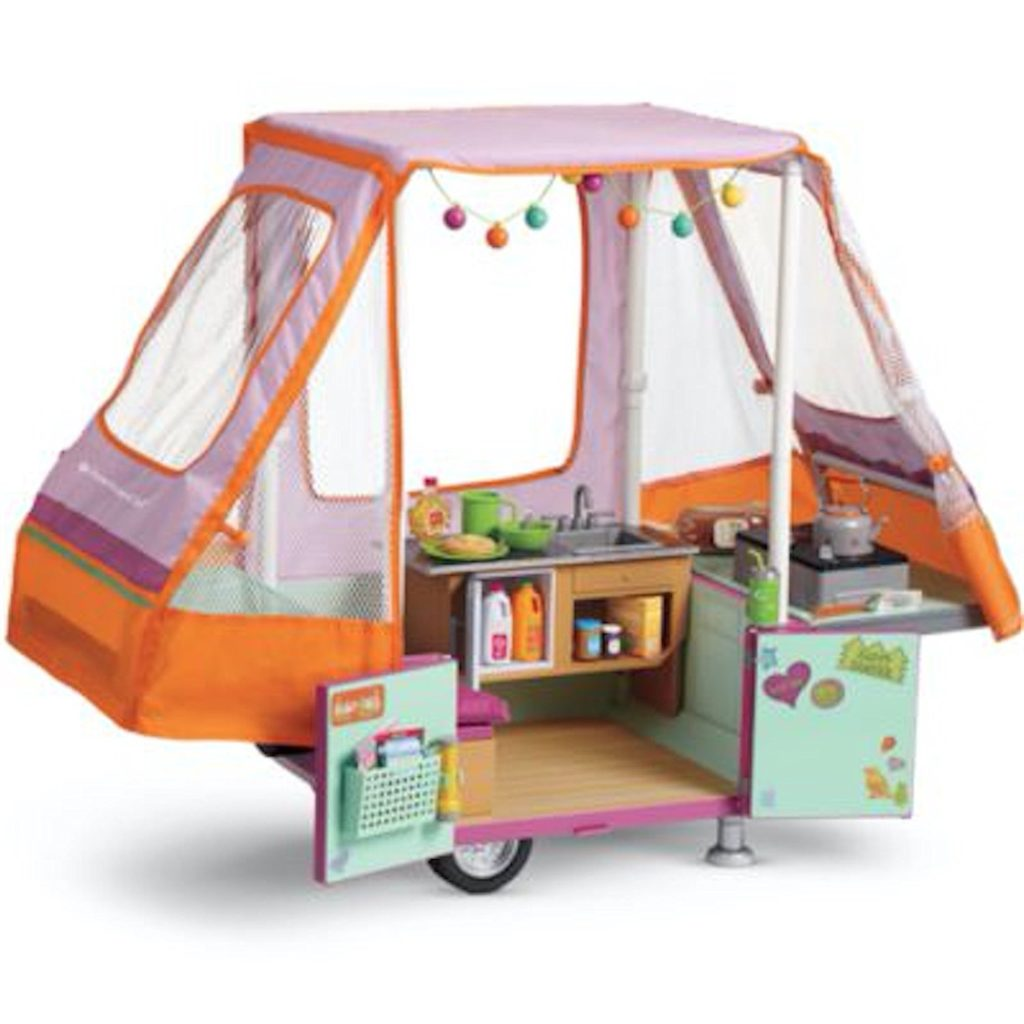American Girl Pop Up Camper