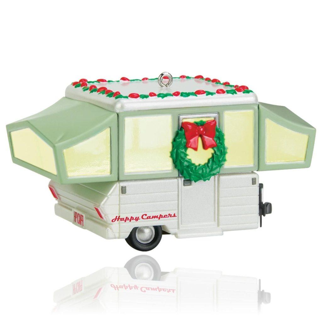 Pop Up Camper Christmas Tree Ornament