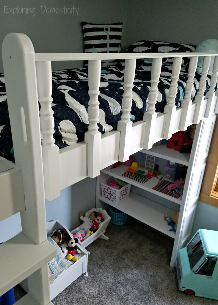 Play Room Loft Bed - organization, pay space, and sleeping