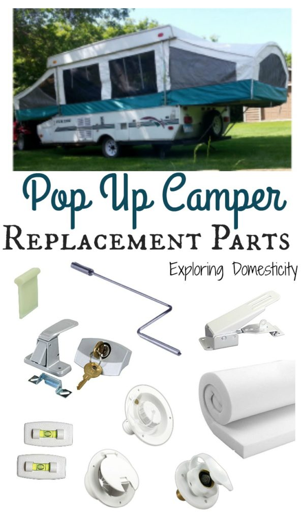 Pop Up Camper Replacement Parts - easy to find parts on Amazon