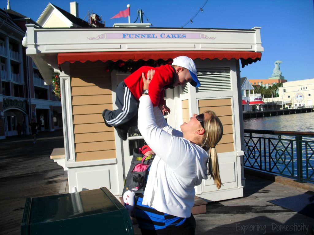 Walt Disney World with a 1 Year Old and 1 Month Old - Boardwalk