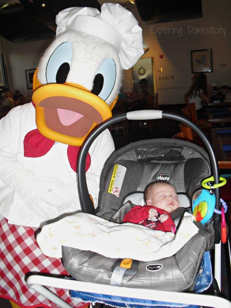 Walt Disney World with a Baby - Chef Mickey's