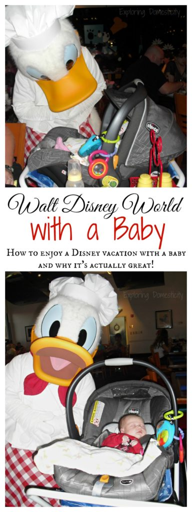 Walt Disney World with a Baby - How to enjoy a Disney vacation with a baby and why it's actually great!