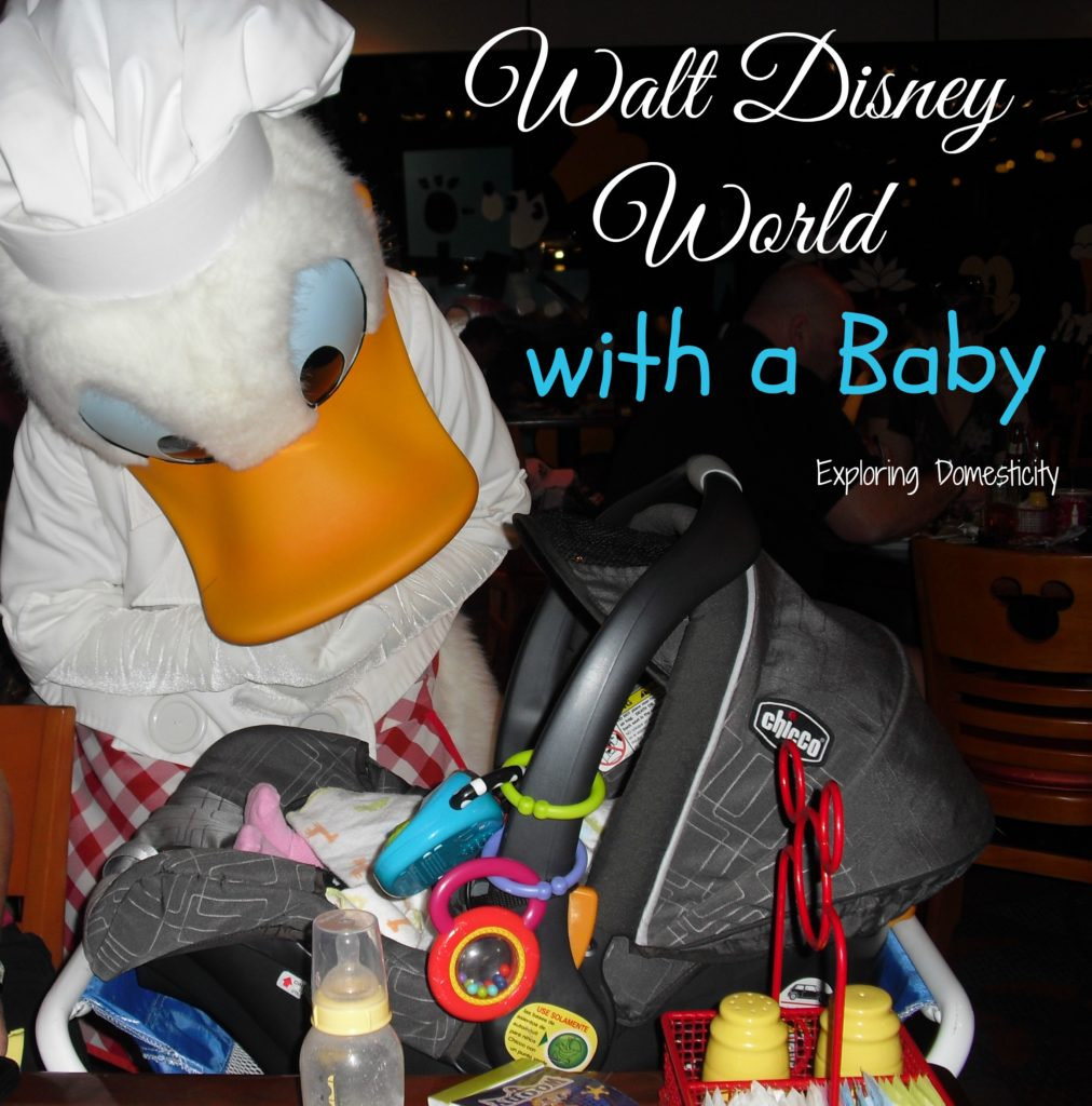 Walt Disney World with a Baby - Why you should totally bring a baby to Disney World #DisneyMom