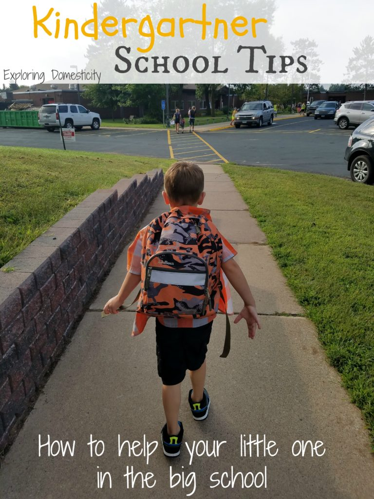 kindergartner school tips - how to help your little one in the big school