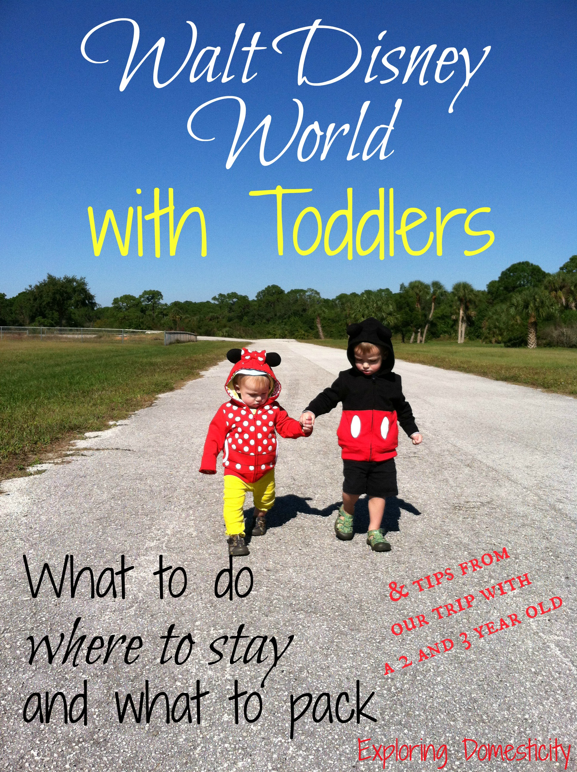 Walt Disney World With Toddlers Must Dos And Tips Exploring