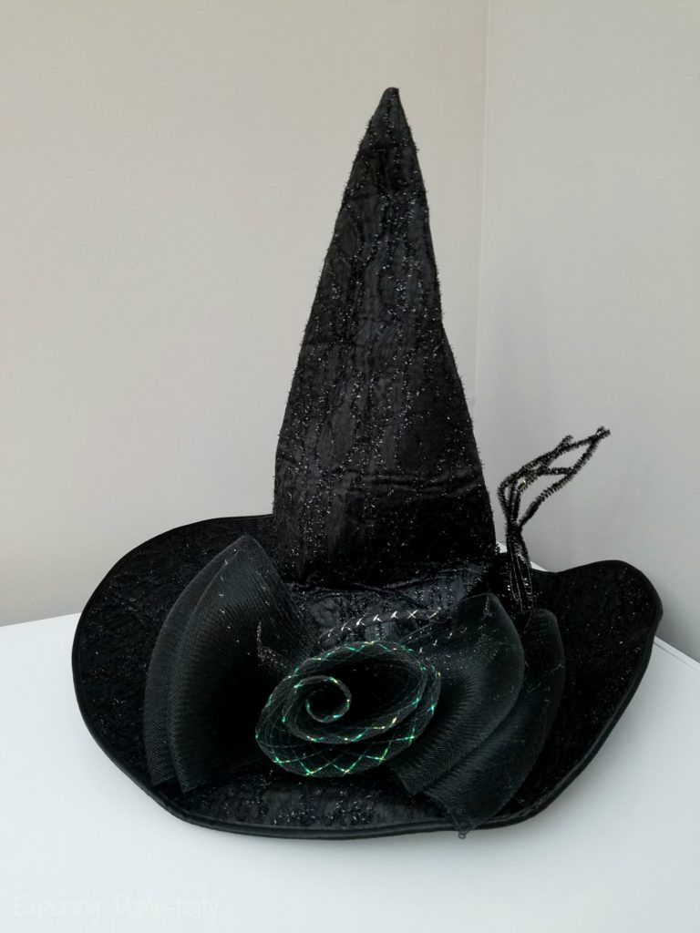 Amazing great-quality witch hat for Halloween