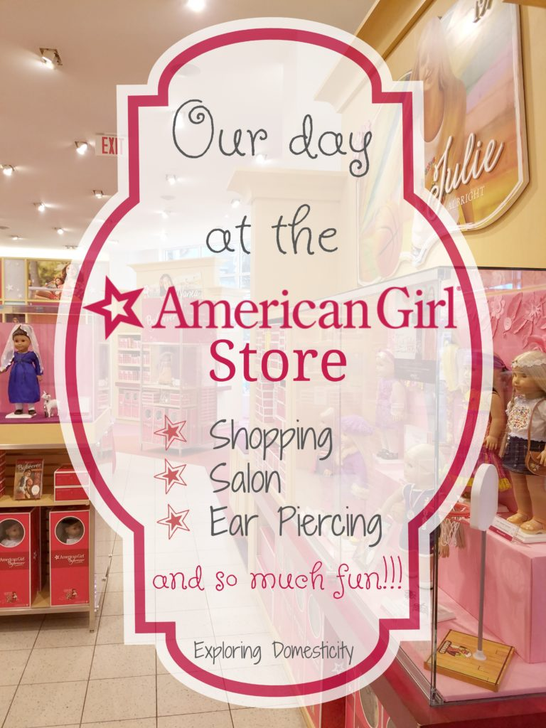 American Girl Store - Shopping, Salon, Ear Piercing, and so much fun!