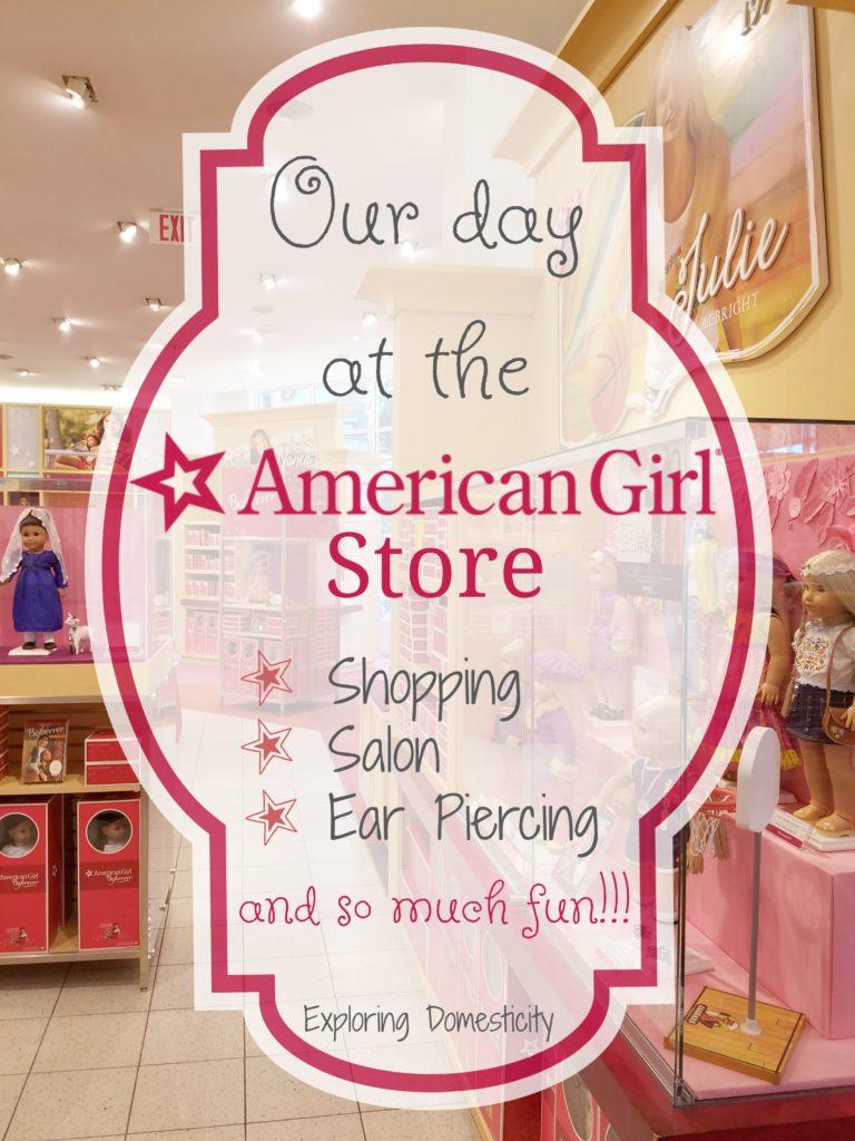 American Girl Store - Shopping, Salon, Ear Piercing, and so much fun!