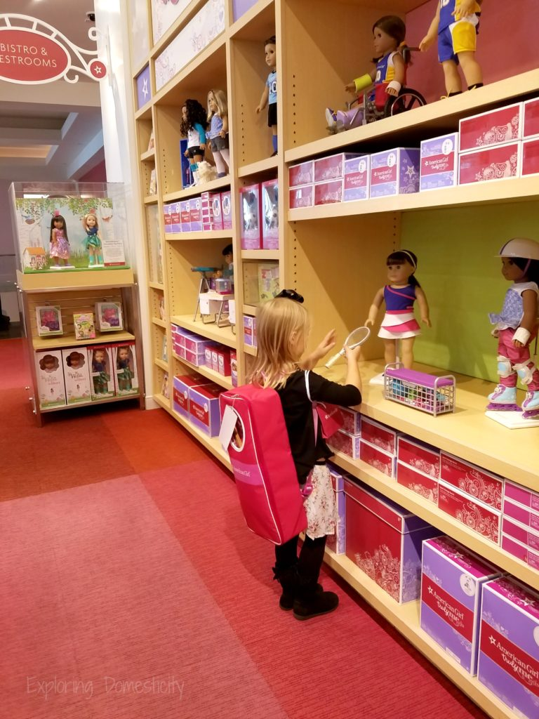 American Girl store at Mall of America - what to expect