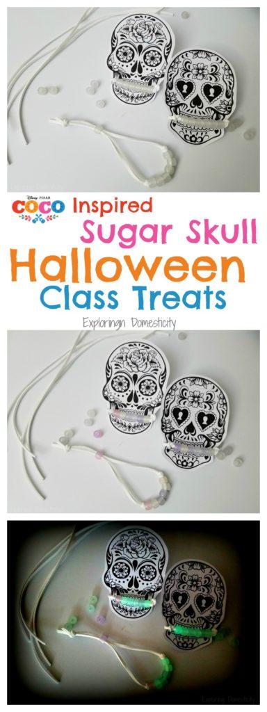 Disney Pixar Coco Inspired Sugar Skull Halloween Class Treats