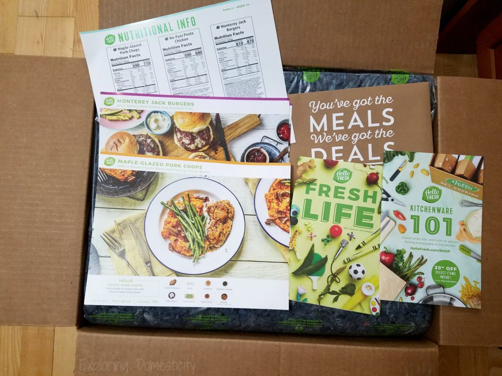 Hello Fresh - what worked for our family and what didn't