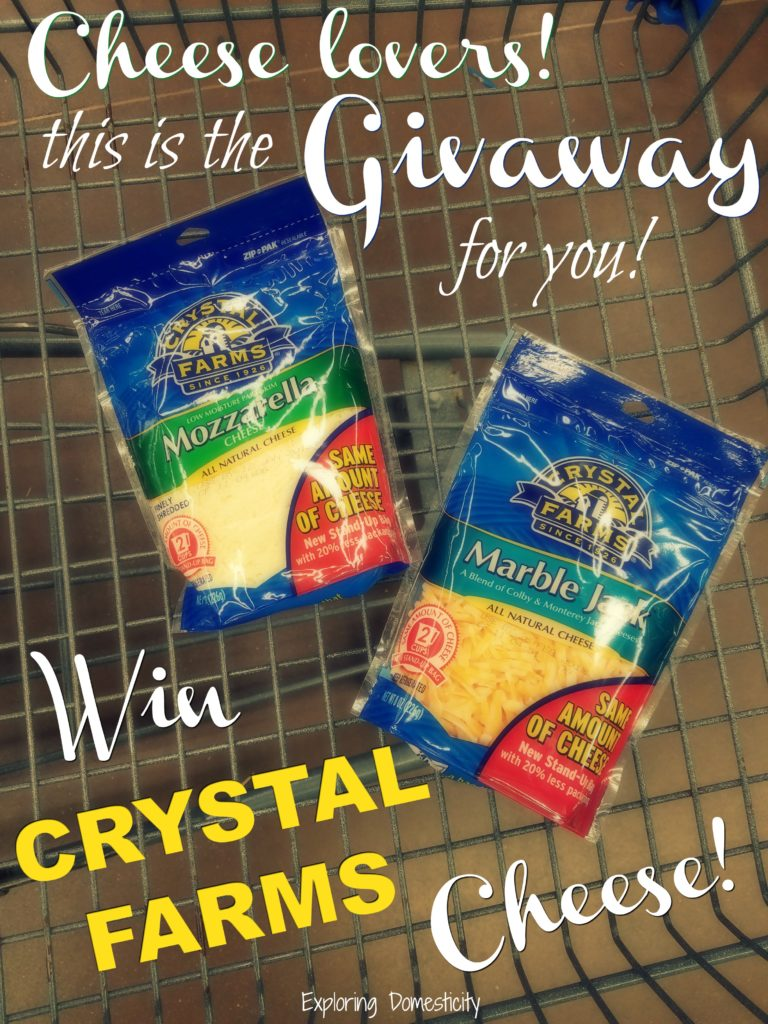 Crystal Farms Giveaway!
