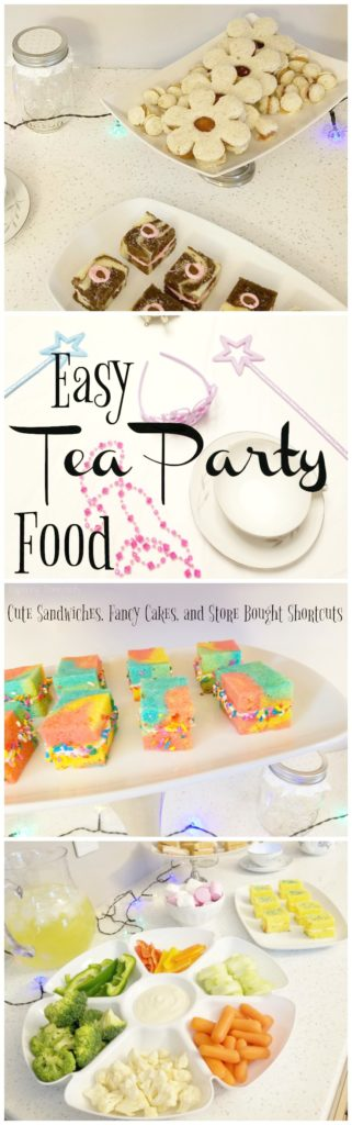 Easy Tea Party Food - Cute Sandwiches, Fancy Cakes, & Store Bought Shortcuts