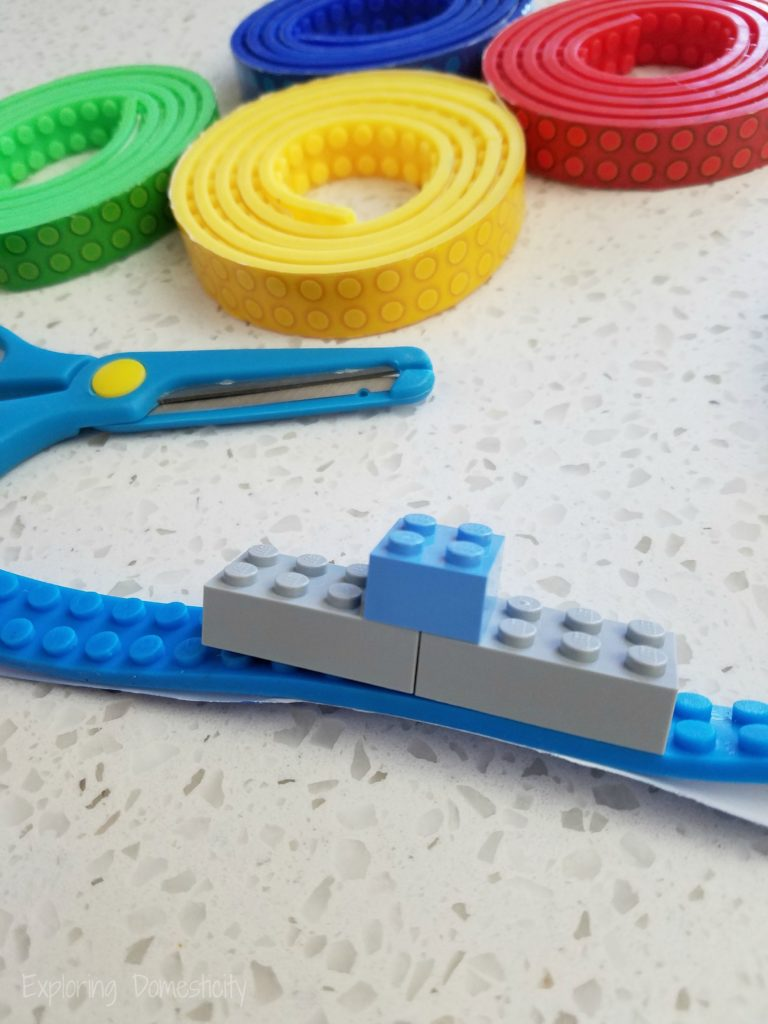 Gifts for Creativity - building block tape