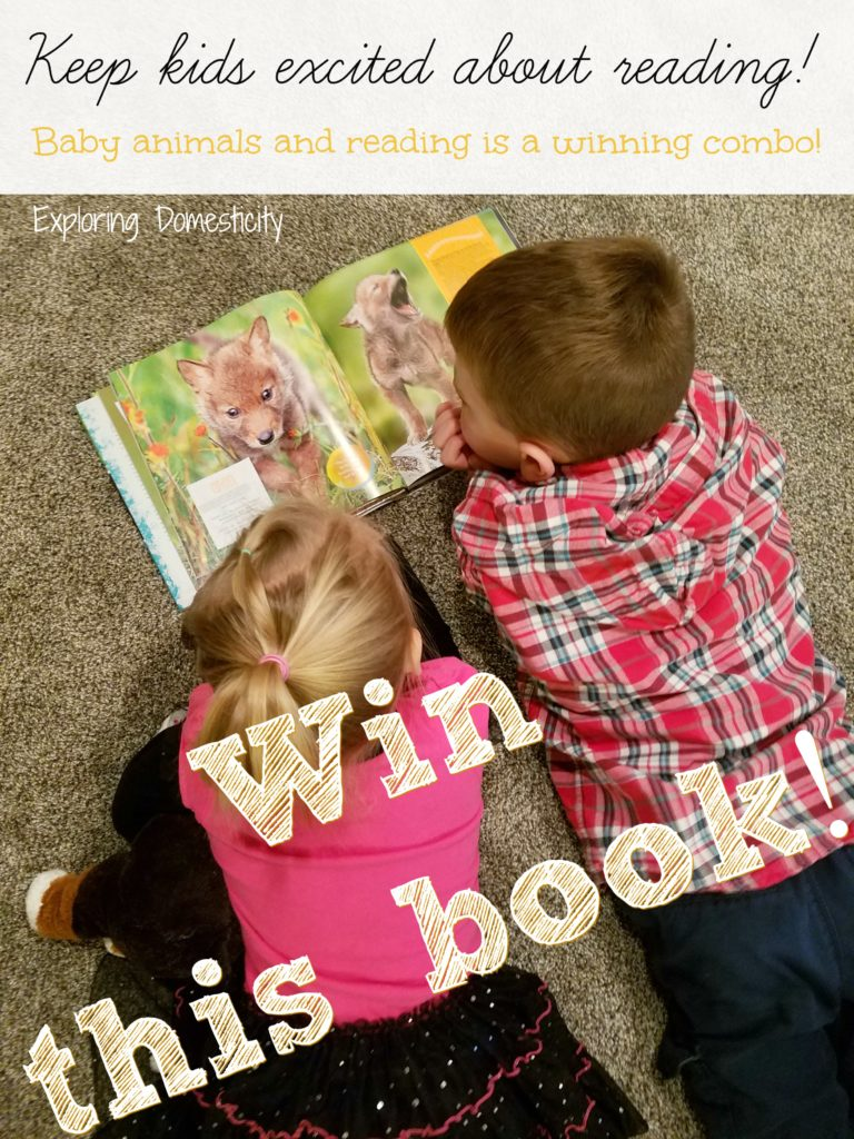 National Geographic Kids Book - Hey Baby! Giveaway