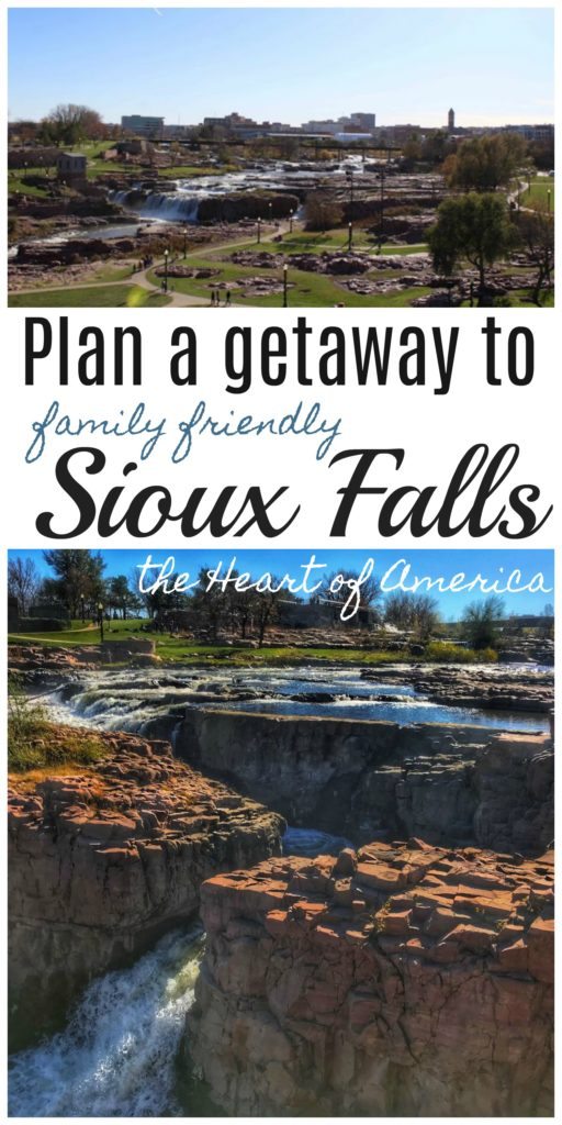 Plan a getaway to family friendly Sioux Falls - the Heart of America