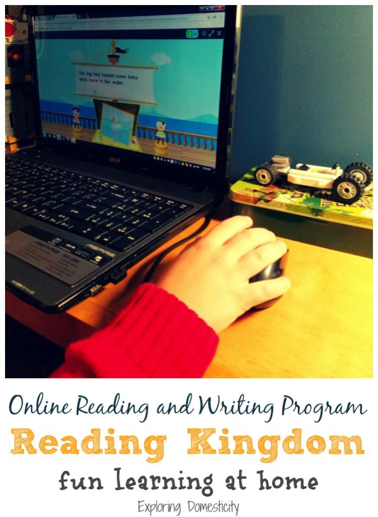 Reading Kingdom - Online Reading and Writing Program - fun learning at home