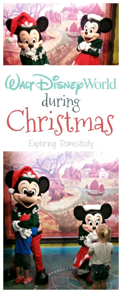 Walt Disney World Christmas - what to love about Disney during the holidays