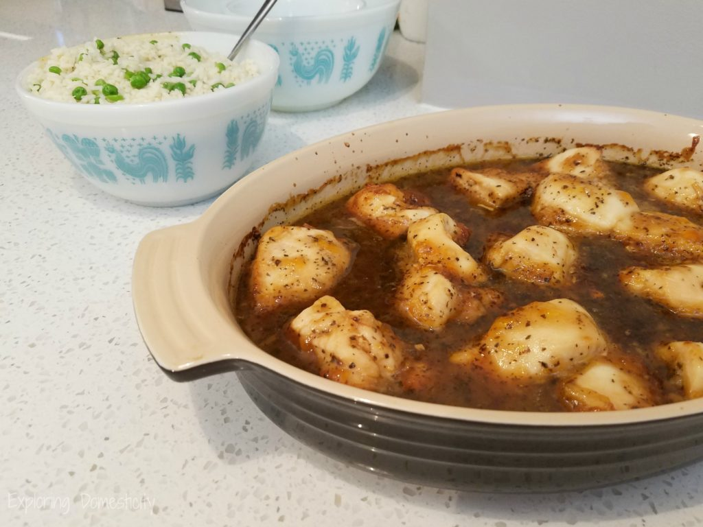 Zesty Chicken - delicious and easy one-dish meal
