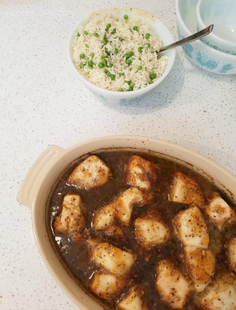 Zesty Chicken - easy weeknight meal