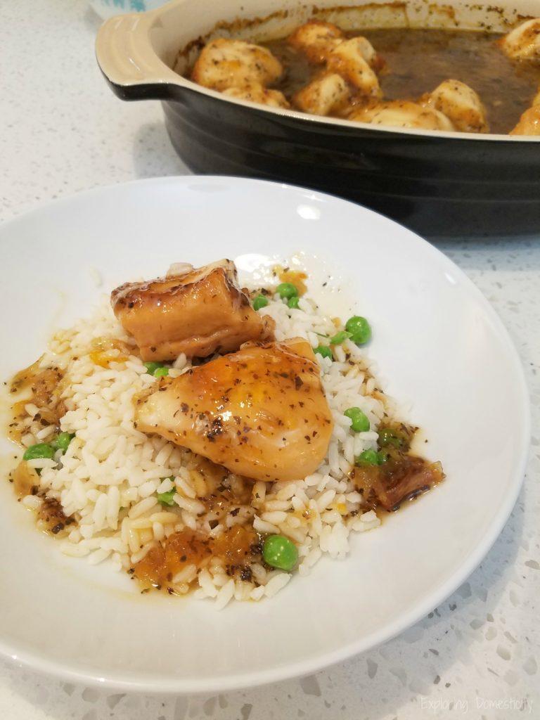 Zesty Chicken - one pot weeknight meal