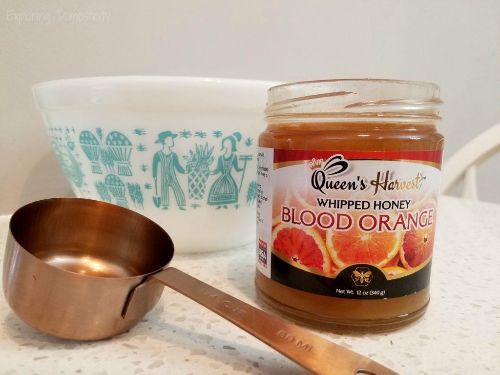 Zesty Chicken with Queen's Harvest Blood Orange Whipped Honey